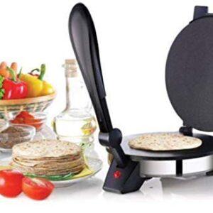 ANK Steel Automatic Electric Roti/Chapati Maker Non-Stick Coating