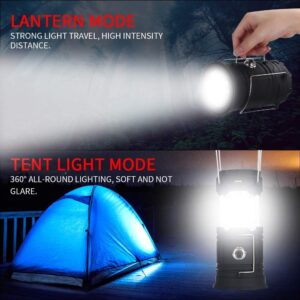 ANK Rechargeable Solar and Charging LED Lantern Light, Portable Camping and Home Emergency Lights, Travel Battery Lalten Torch Lamp (Multi Colour)