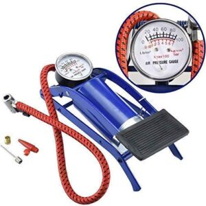 ANK Portable High Pressure Foot Air Pump Heavy Compressor Cylinder Bike, Car, Bicycles & All Other Vehicles